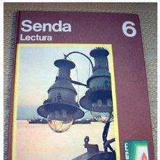 Libros de segunda mano: EGB SANTILLANA. LITERATURA SENDA 6 LECTURA. MUY BUEN ESTADO. Lote 126508962