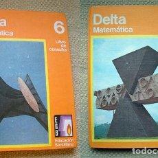 Libros de segunda mano: EGB SANTILLANA. MATEMATICAS DELTA 6 Y 7. MUY BUEN ESTADO. Lote 126509071