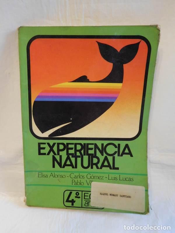 M69 LIBRO DE TEXTO CIENCIAS NATURALES ANAYA 4º EGB. AÑO 1982. (Libros de Segunda Mano - Libros de Texto )