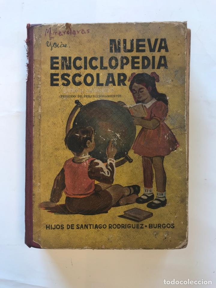 NUEVA ENCICLOPEDIA ESCOLAR.IMPRENTA HIJOS DE SANTIAGO RODRIGUEZ, 1954 (Libros de Segunda Mano - Libros de Texto )
