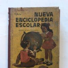 Libros de segunda mano: NUEVA ENCICLOPEDIA ESCOLAR.IMPRENTA HIJOS DE SANTIAGO RODRIGUEZ, 1954. Lote 127211375