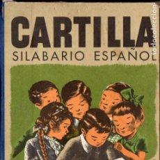 Libros de segunda mano: CARTILLA - SILABARIO ESPAÑOL PRIMERA PARTE (SEIX BARRAL, 1956). Lote 127497459