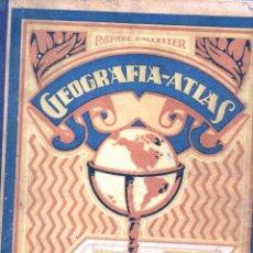 Libros de segunda mano: BALLESTER : GEOGRAFÍA ATLAS GRADO SUPERIOR (DALMAU CARLES, 1942). Lote 127498791