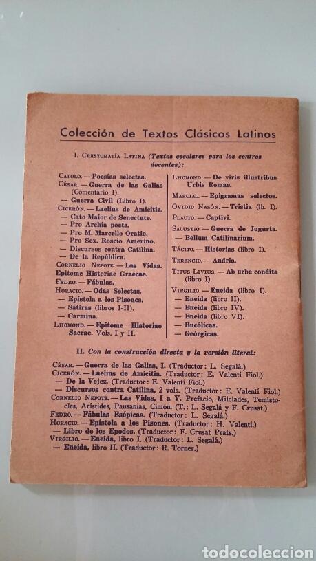 Libros de segunda mano: Crestomatía Latina-XX. P. Oviedo Nasón. 1973 - Foto 3 - 124316471