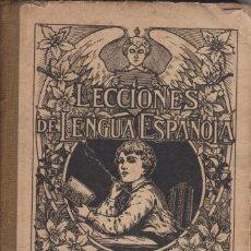 Libros de segunda mano: LECCIONES DE LENGUA ESPAÑOLA.CURSO ELEMENTAL G.M.BRUÑO. Lote 128115523