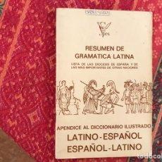 Libros de segunda mano - Resumen de Gramática latina - 128126984