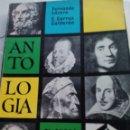 Libros de segunda mano: LIBRO DE TEXTO 6º CURSO DE ANTOLOGIA LITERARIA CORREA-LÁZARO DE ANAYA AÑO 1975.. Lote 128176126