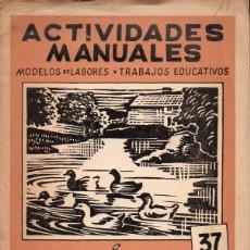 Libros de segunda mano: EL LINÓLEO Y LA XILOGRAFÍA - CARPETA DE ACTIVIDADES MANUALES SALVATELLA. Lote 128301967