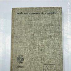 Libros de segunda mano: MÉTODO PARA LA ENSEÑANZA DE LA GEOGRAFÍA. TEIDE / UNESCO. BARCELONA, 1969. TDK349. Lote 128424991