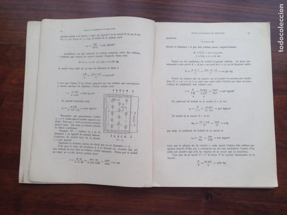 Libros de segunda mano: Extensio d'Ensenyament Tecnic. Càlcul d'Elements de Màquines - Foto 2 - 128723691