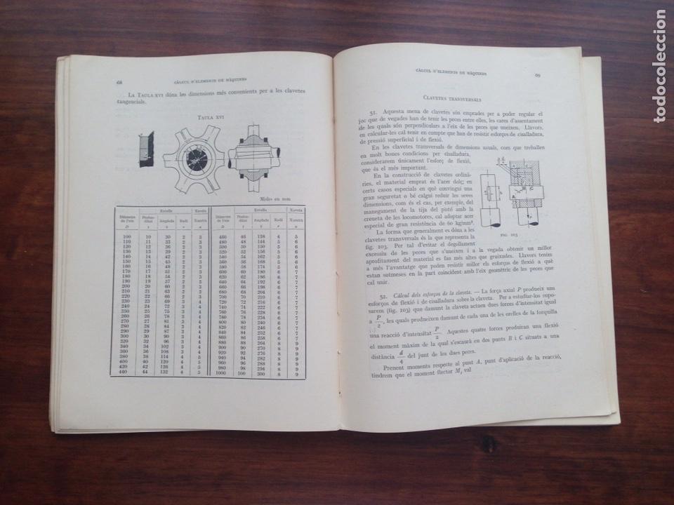 Libros de segunda mano: Extensio d'Ensenyament Tecnic. Càlcul d'Elements de Màquines - Foto 3 - 128723691