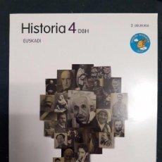 Libros de segunda mano: HISTORIA 4 DBH 4º ESO 2.LIBURUKIA - ZUBIA SANTILLANA 9788498942842. Lote 128942191