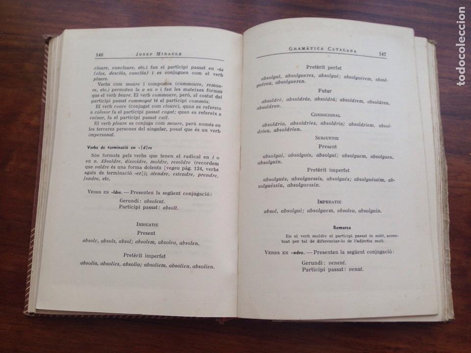 Libros de segunda mano: Gramática catalana 1951 Josep Miracle - Foto 2 - 129584028