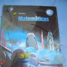 Libri di seconda mano: MATEMÁTICAS 6º PRIMARIA TERCER TRIMESTRE SUPERPIXÉPOLIS EDELVIVES. Lote 130048167