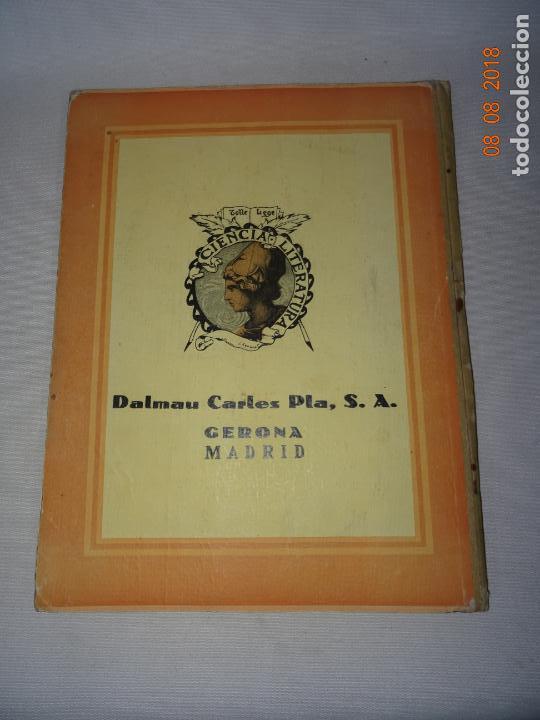 Libros de segunda mano: Antiguo ATLAS Escolar de Geografia Moderna DCP Dalmau Carles Pla, S.A. en Gerona y Madrid Año 1950s. - Foto 4 - 130380586