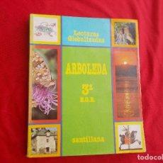 Libros de segunda mano: ARBOLEDA 3º EGB LECTURAS GLOBALIZADAS - SANTILLANA 1991 -. Lote 130605614