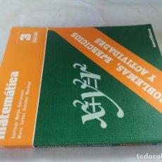 Libros de segunda mano: MATEMATICAS 3 BACHILLERATO SANTILLANA 1981. Lote 130638062