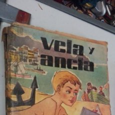 Libros de segunda mano: VELA Y ANCLA EUGENIO DE BUSTOS 1959 SEGUNDA EDICIÓN DONCEL. Lote 130832252