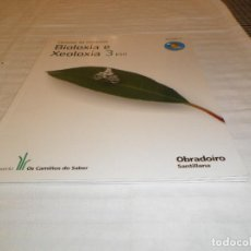 Libros de segunda mano: BIOLOXIA E XEOLOGIA 3 ESO OBRADOIRO SANTILLANA NUEVO SIN USO. Lote 130862732