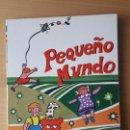 Libros de segunda mano: PEQUEÑO MUNDO / SM / LIBRO DE LECTURAS / NUEVO!!!!!. Lote 130911096