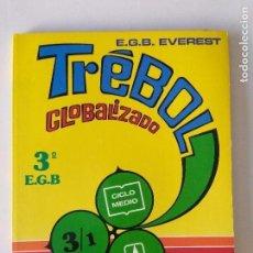 Libros de segunda mano: TREBOL 3/1 CICLO MEDIO 3E.G.B. EVEREST/NUEVO!!!. Lote 131061224