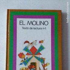 Libros de segunda mano: TEXTO DE LECTURA EL MOLINO 1/SANTILLANA/NUEVO!!!!.. Lote 131087000