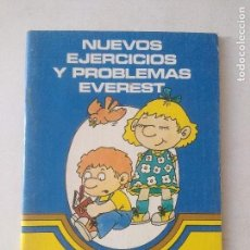 Libros de segunda mano: NUEVOS EJERCICIOS Y PROBLEMAS EVEREST 3/NUEVO!!!!.. Lote 131133360