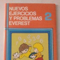 Libros de segunda mano: NUEVOS EJERCICIOS Y PROBLEMAS EVEREST 2/NUEVO!!!!.. Lote 131133424