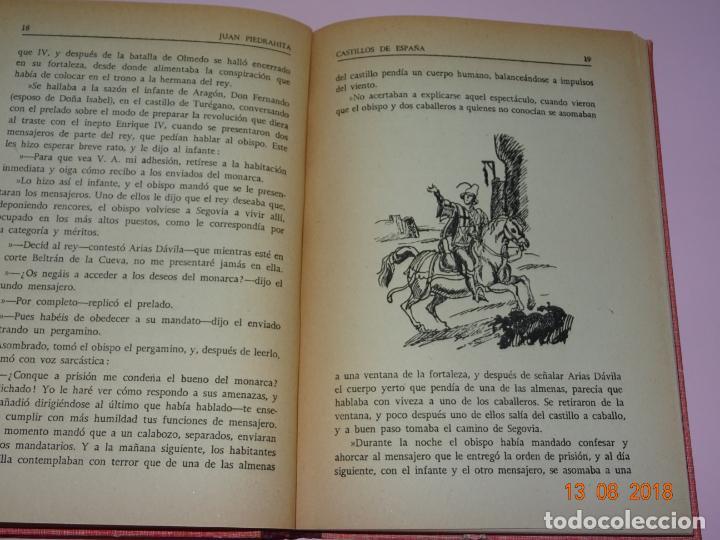 Libros de segunda mano: Libros de Escuela *CASTILLOS DE ESPAÑA* Tomos I y II - Edit Magisterio Español - Foto 3 - 131133520