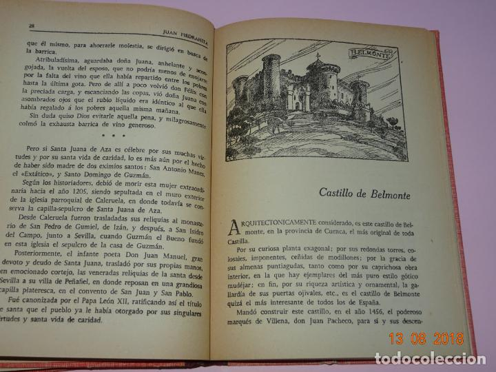 Libros de segunda mano: Libros de Escuela *CASTILLOS DE ESPAÑA* Tomos I y II - Edit Magisterio Español - Foto 4 - 131133520