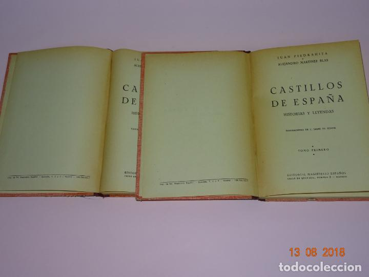 Libros de segunda mano: Libros de Escuela *CASTILLOS DE ESPAÑA* Tomos I y II - Edit Magisterio Español - Foto 6 - 131133520
