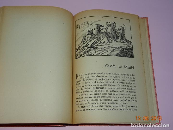 Libros de segunda mano: Libros de Escuela *CASTILLOS DE ESPAÑA* Tomos I y II - Edit Magisterio Español - Foto 7 - 131133520