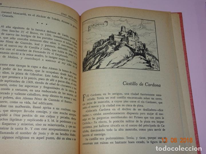 Libros de segunda mano: Libros de Escuela *CASTILLOS DE ESPAÑA* Tomos I y II - Edit Magisterio Español - Foto 9 - 131133520