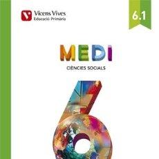 Libros de segunda mano: MEDI 6 SOCIAL I NATURAL (AULA ACTIVA) (CATALÁN).. Lote 131275703
