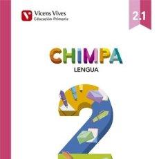 Libros de segunda mano: CHIMPA 2 (2.1-2.2-2.3) AULA ACTIVA (CATALÁN).. Lote 131275711