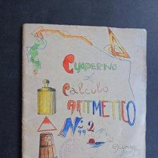 Gebrauchte Bücher - CUADERNO DE ALUMNO AÑOS 1940-1941 / CUADERNO DE ESCRITURA / HOSPITALET DE LLOBREGAT - 131334894