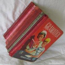 Libros de segunda mano: 8 LIBROS DE LA ESCUELA. ED. LUIS VIVES. AÑOS 60. Lote 131349290