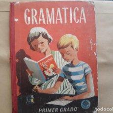 Libros de segunda mano: GRAMATICA PRIMER GRADO 1958 VUELTA AL COLE EDELVIVES. Lote 131414306