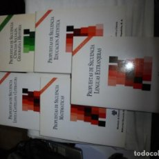 Libros de segunda mano: PROPUESTAS DE SECUENCIA PRIMARIA Y SECUNDARIA OBLIGATORIA 5 LIBROS. Lote 131746898