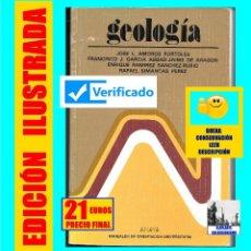 Libros de segunda mano: GEOLOGÍA - CURSO DE ORIENTACIÓN UNIVERSITARIA - C.O.U. - JOSÉ AMOROS PORTOLES FRANCISCO GARCÍA. Lote 132178750