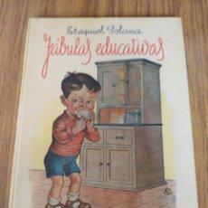 Libros de segunda mano: FABULAS EDUCATIVAS-EZEQUIEL SOLANA-EDITORIAL ESCUELA ESPAÑOLA-11º EDICION.. Lote 132992101