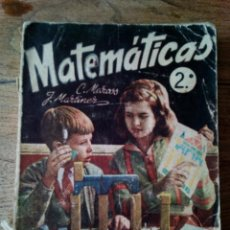 Libros de segunda mano: MATEMÁTICAS 2º C. MARCOS J. MARTINEZ (ENVÍO 2,40€). Lote 132998414
