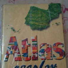 Libros de segunda mano: LIBRO. ATLAS ESCOLAR SANTILLANA. , NUEVA SIN USO ENCELOFANADA, VER FOTOS.. Lote 133016582