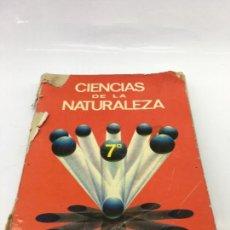 Libros de segunda mano: CIENCIAS DE LA NATURALEZA 7º - SM EDICIONES - 7º CURSO DE E.G.B. - 1977. Lote 133214858