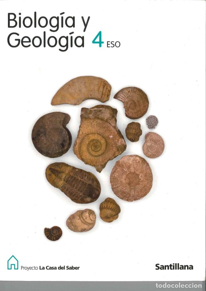 Biología Y Geología 4º Eso Santillana 978842940 Comprar Libros De Texto En Todocoleccion 133733870