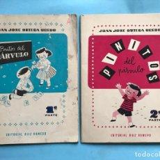 Libros de segunda mano: PINITOS DEL PÁRVULO - EDITORIAL RUIZ ROMERO - 1ª Y 2ª PARTE . Lote 133829650