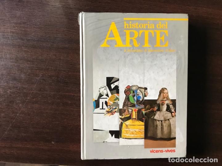 HISTORIA DEL ARTE. VICENS VIVES (Libros de Segunda Mano - Libros de Texto )