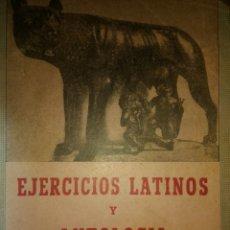 Libros de segunda mano: EJERCICIOS LATINOS Y ANTOLOGÍA. SEGUNDO Y TERCER CURSO DE LATÍN. POR T. DE LA A. RECIO. CUARTA EDICI. Lote 135338877