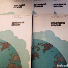 Libros de segunda mano: CURSO UNED 1.973 GEOGRAFÍA GENERAL UNIDADES DIDÁCTICAS.. Lote 135385142