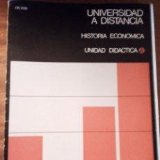 Libros de segunda mano: HISTORIA ECONÓMICA UNIDAD DIDÁCTICA Nº 4 UNED 1.973. Lote 135385206